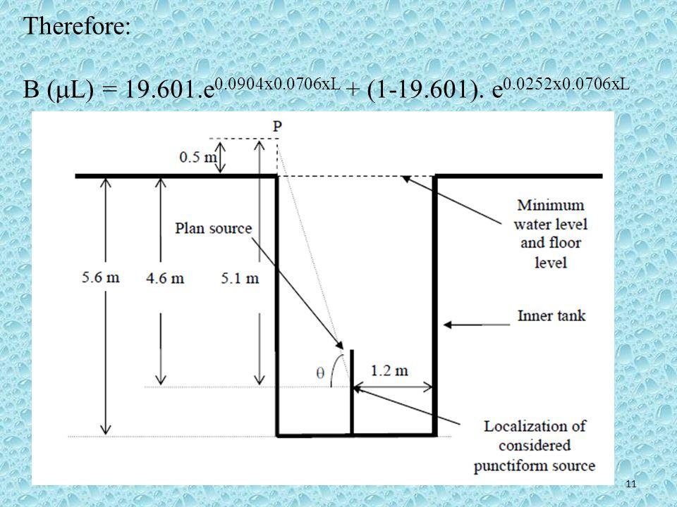 Therefore: B (L) = 19.601.e0.0904x0.0706xL + (1-19.601). e0.0252x0.0706xL