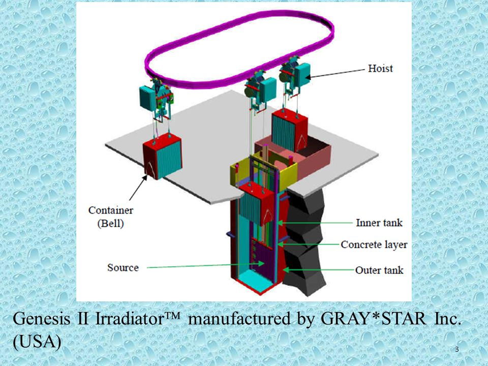 Genesis II Irradiator manufactured by GRAY*STAR Inc. (USA)