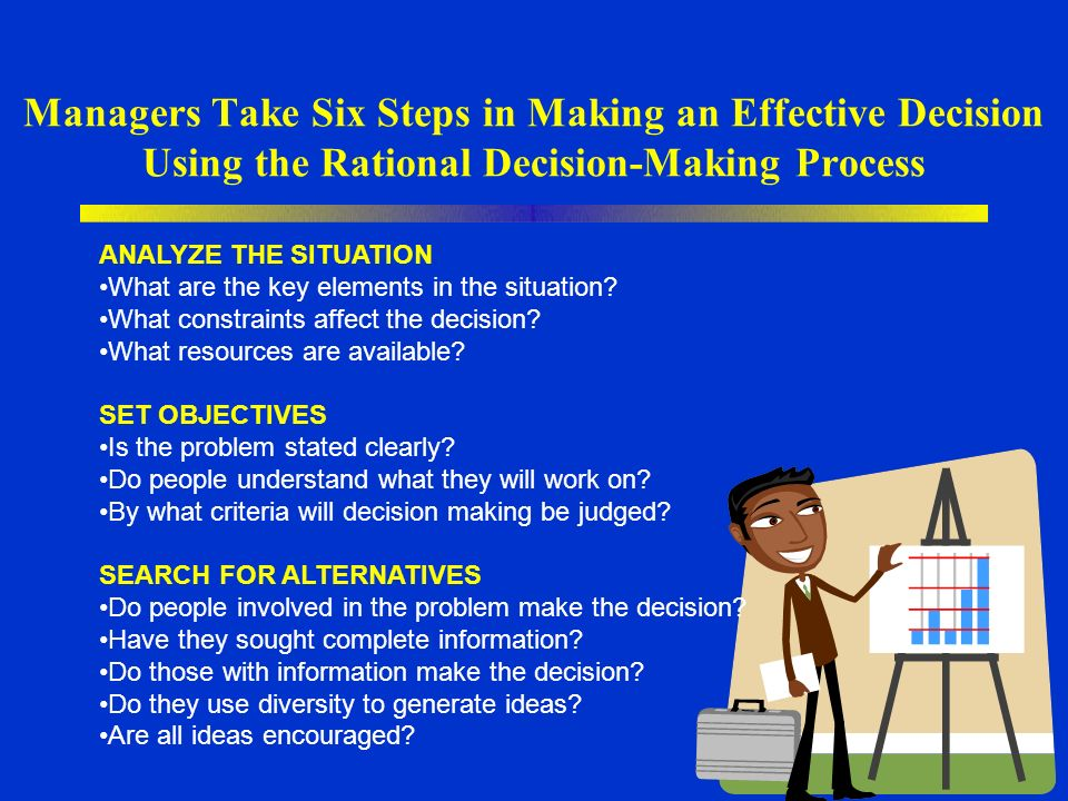 6 Simple Steps to an Effective Decision-making Process