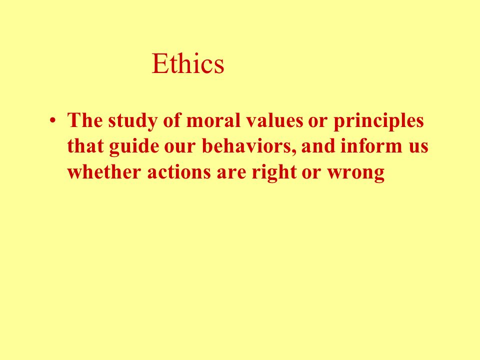 a discussion of the importance of the principles of morals Ethical analysis toolkit: definitions, principles, concepts and special terms a large percentage of ethics discussions break down over disputes over definitions and the lack of common terms and concepts this section contains some useful tools to permit analysis, discussion, and argument to go forward, and to provide a quick reference for readers when one or.