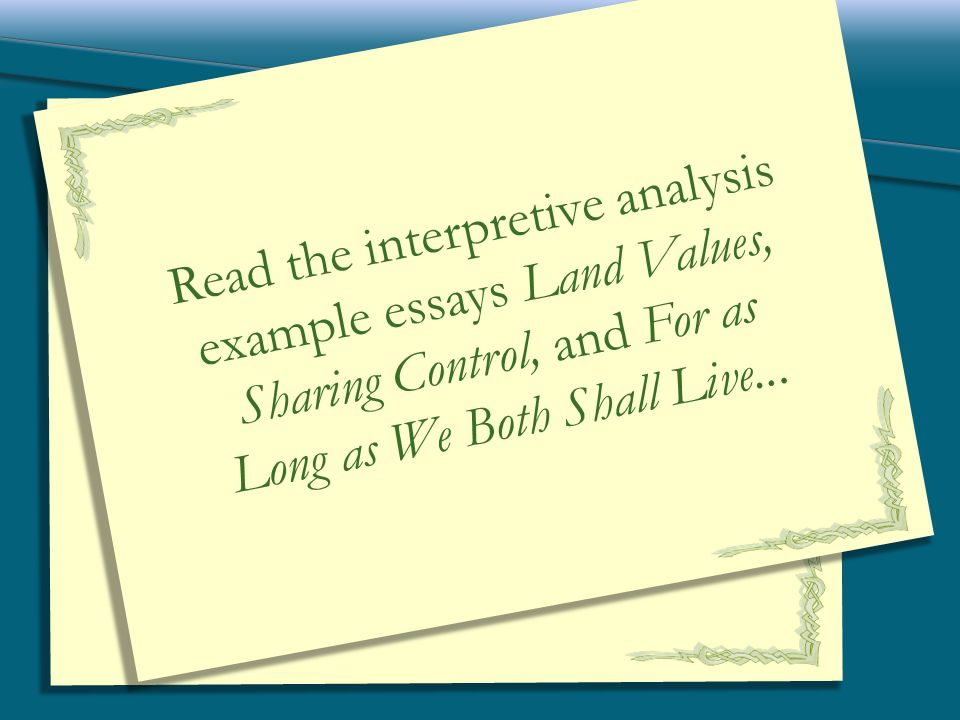 interpretive narrative expository and persuasive ppt download