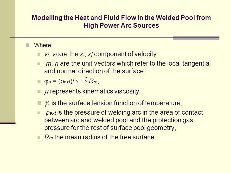gT is the surface tension function of temperature,