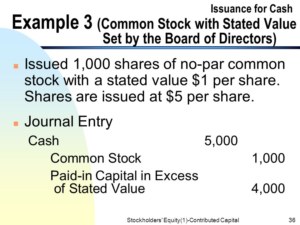 how to find par value of common stock