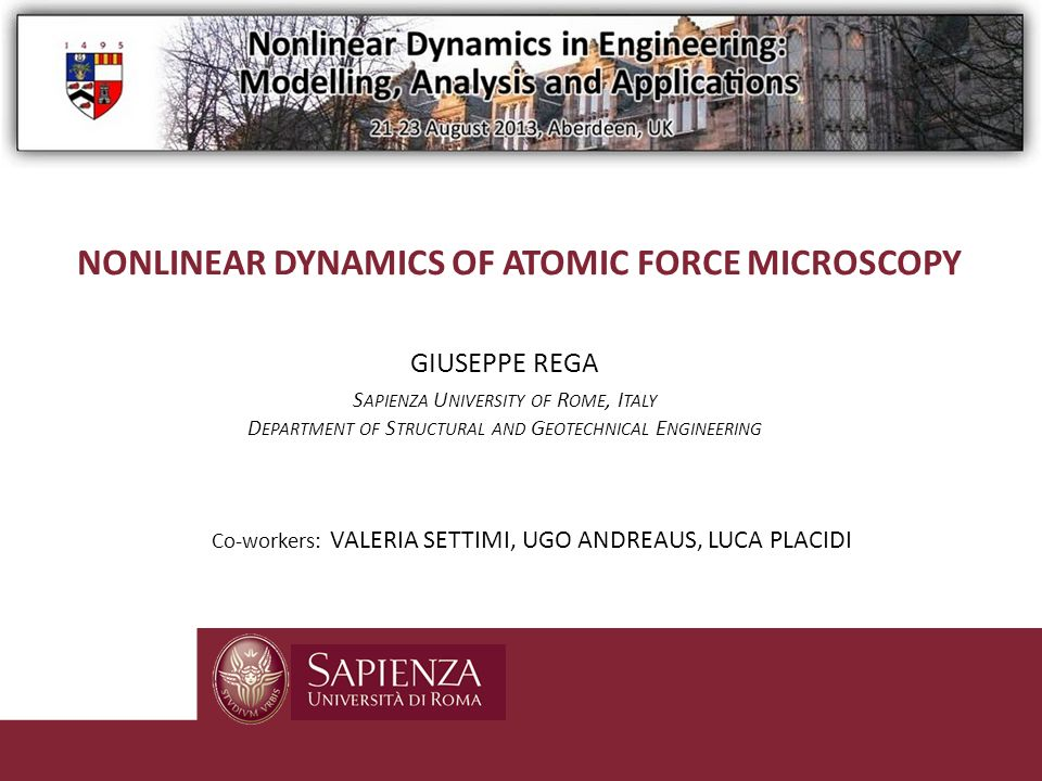 NONLINEAR dynamicS of atomic force microscopY