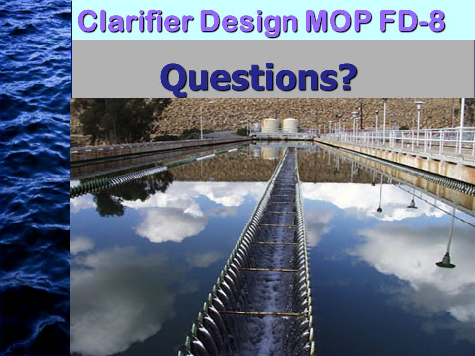 Clarifier Design MOP FD-8