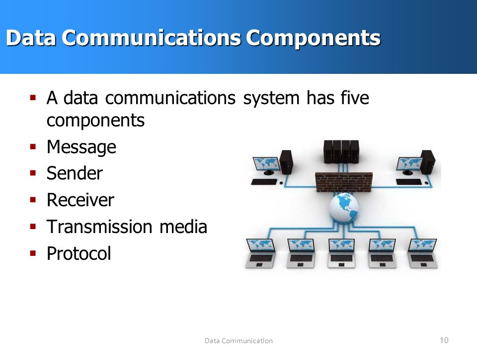 Data Communication System : Ecom data communications fall september ppt video