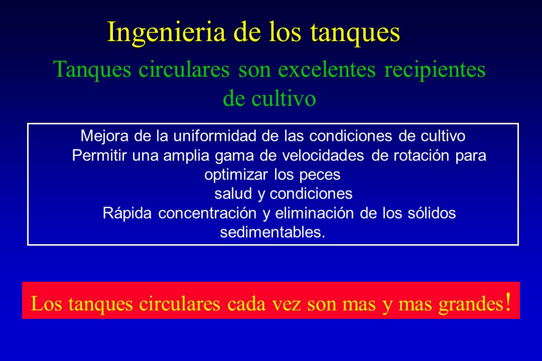 Ingenieria de los tanques