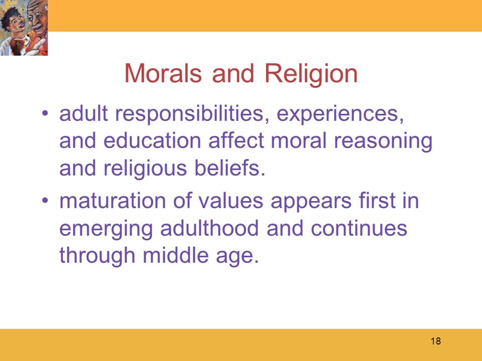 moral development values and religion The powerpoint ppt presentation: moral development, values, and religion in adolescence is the property of its rightful owner do you have powerpoint slides to share if so, share your ppt presentation slides online with powershowcom.