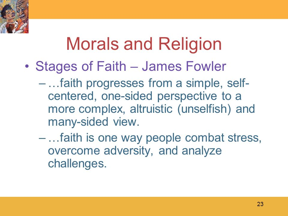 Fowlers stages of faith essays