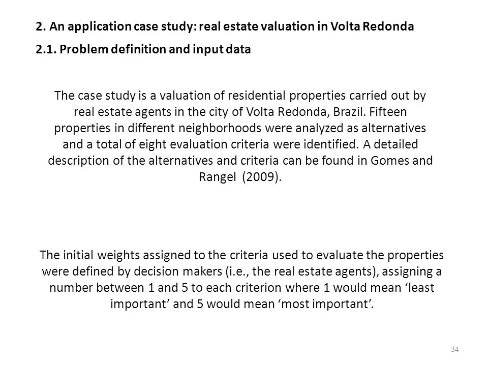 2. An application case study: real estate valuation in Volta Redonda