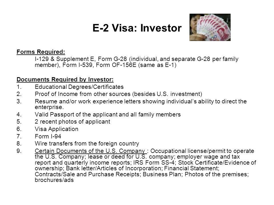 The E Visa E-1 Treaty Countries (50% + in trade with the U.S. per ...