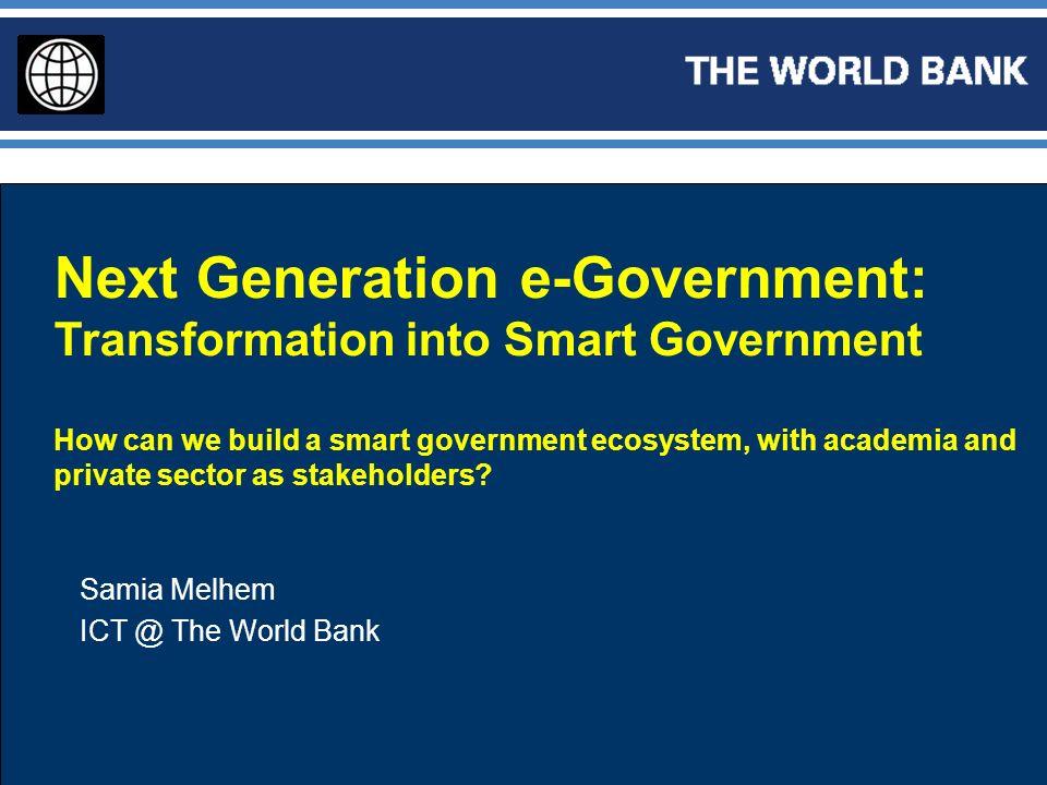 Next Generation e-Government: