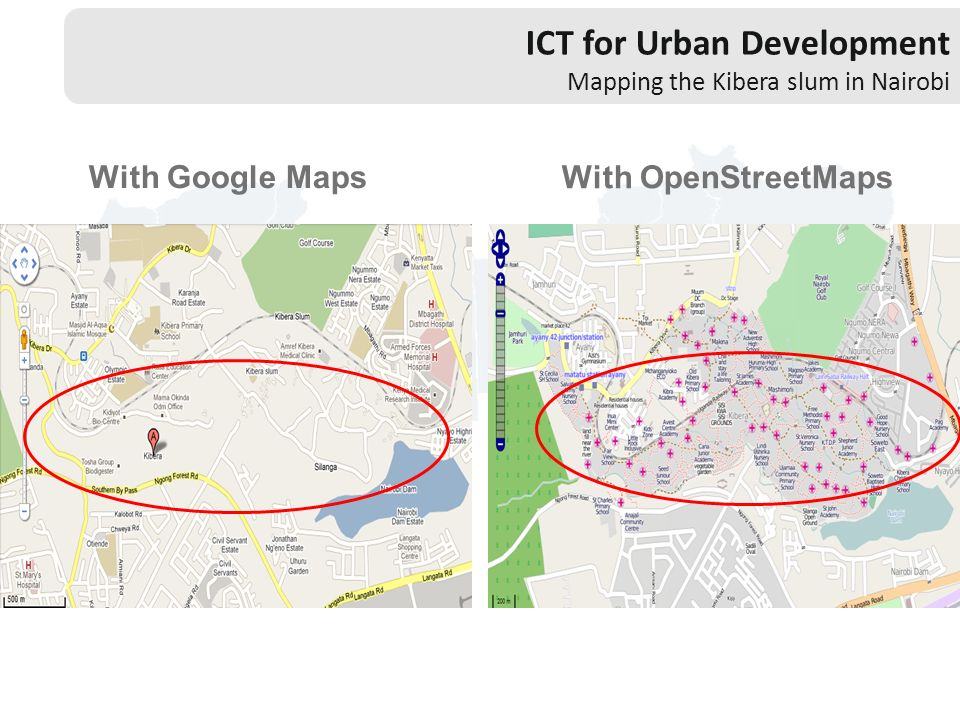 ICT for Urban Development