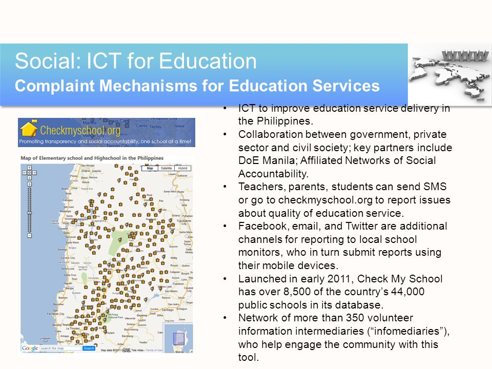 Social: ICT for Education