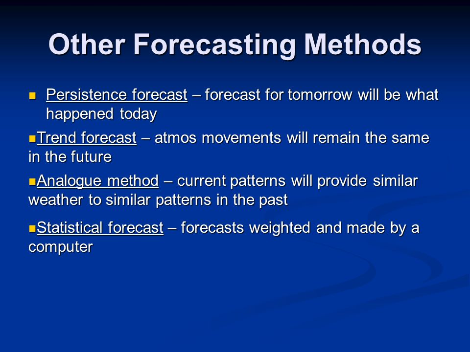 use of computer in weather forecasting Limited resources in developing countries often prevent the use of existing  computers to run advanced weather forecast models these models.