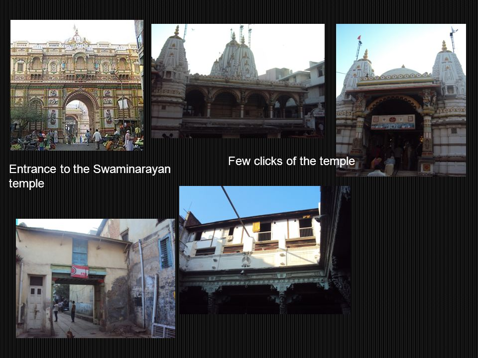 Few clicks of the temple