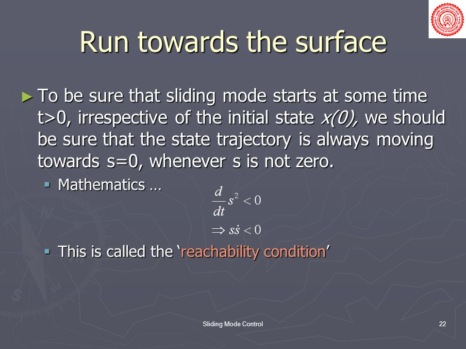 Run towards the surface