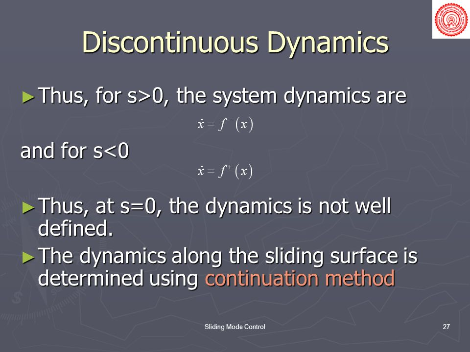Discontinuous Dynamics
