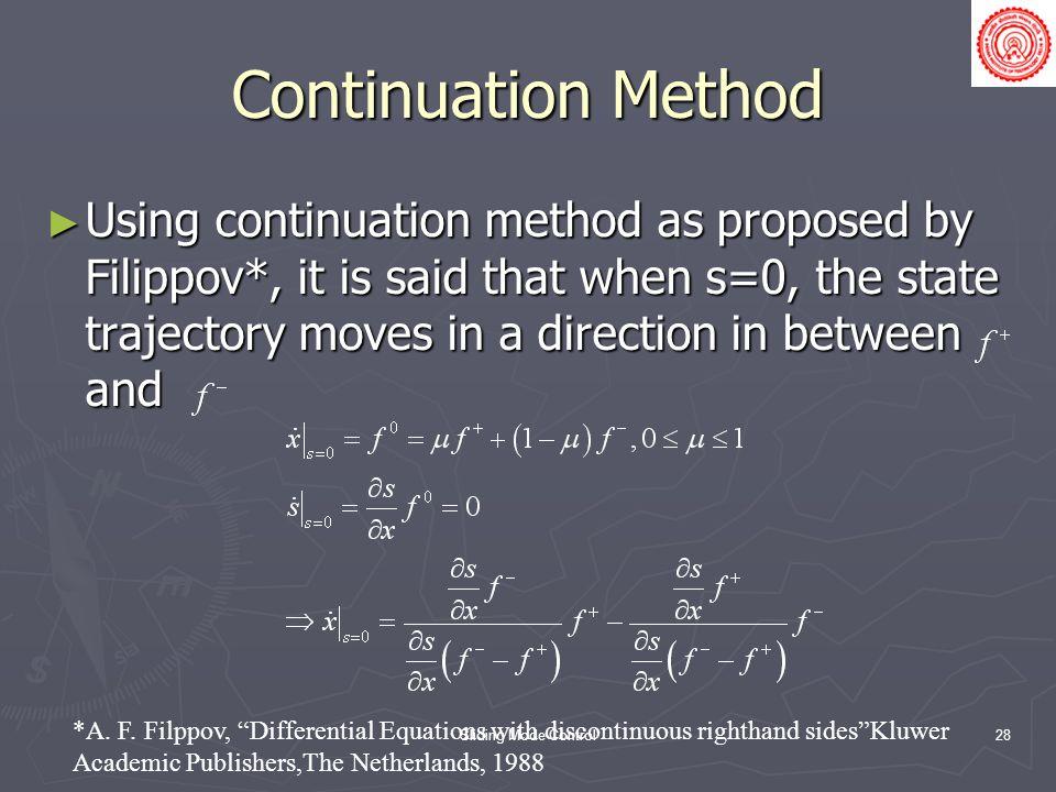Continuation Method