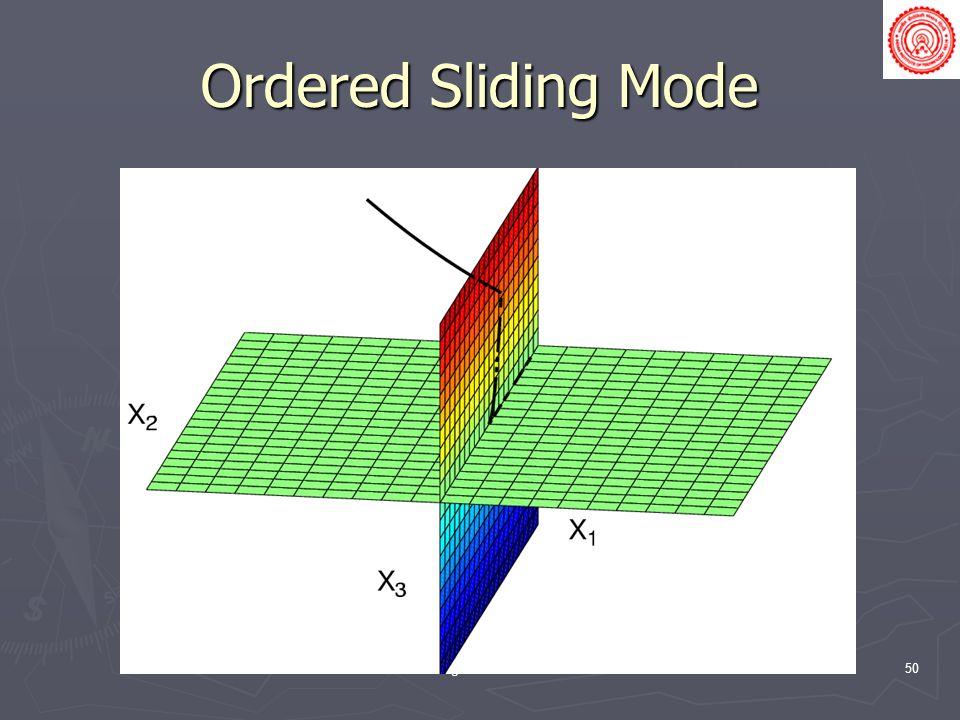 Ordered Sliding Mode Sliding Mode Control