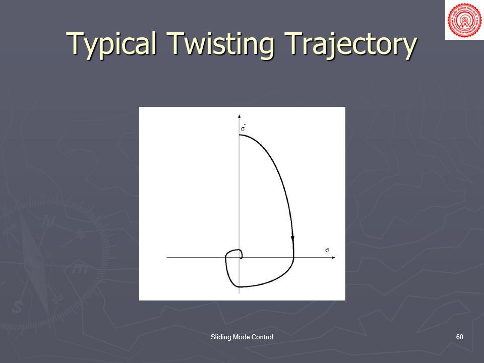 Typical Twisting Trajectory