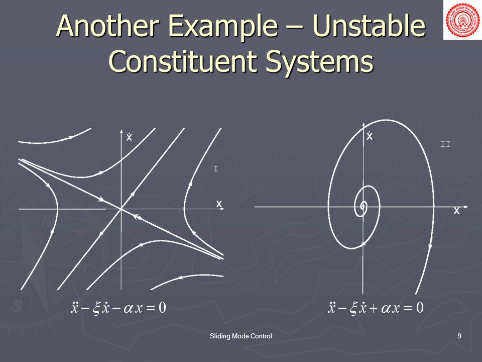 Another Example – Unstable Constituent Systems