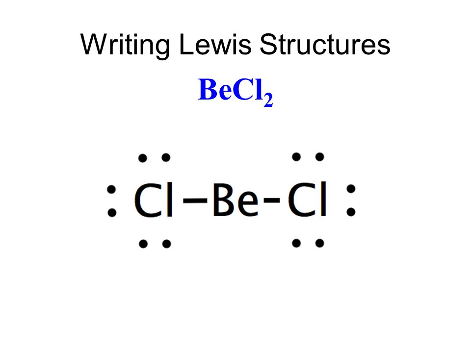 chapter 13 lewis structures