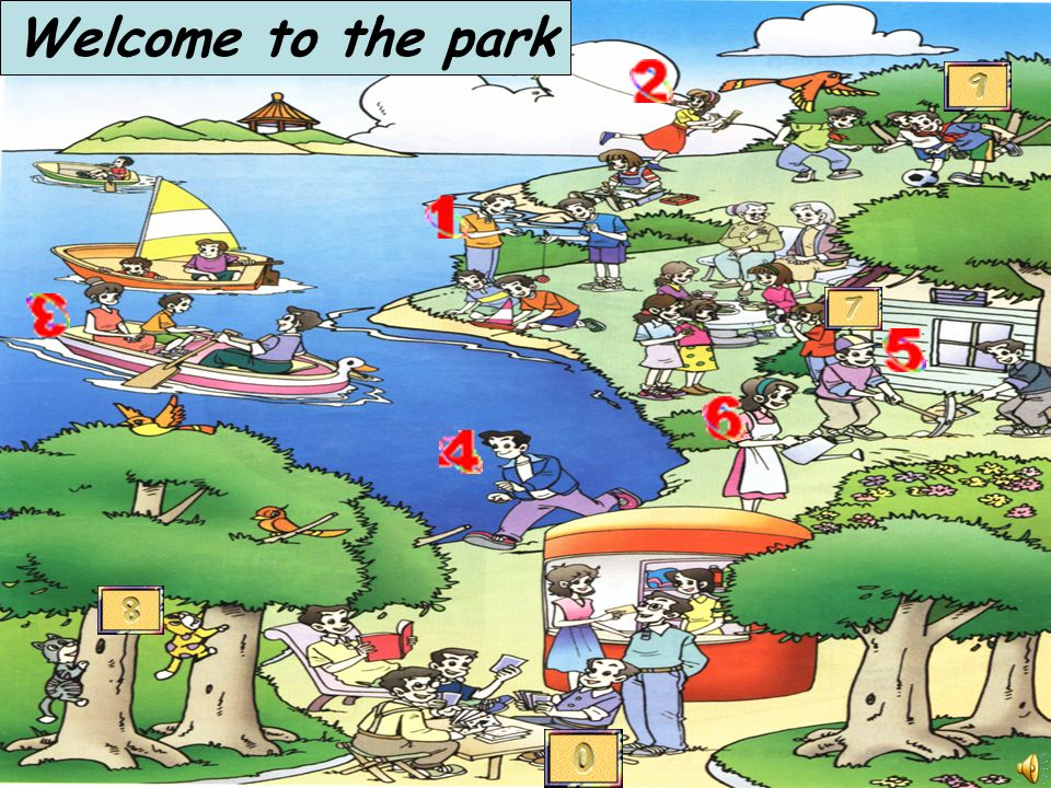 Welcome to the park