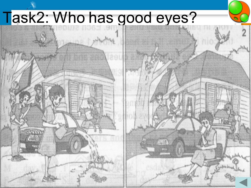 Task2: Who has good eyes