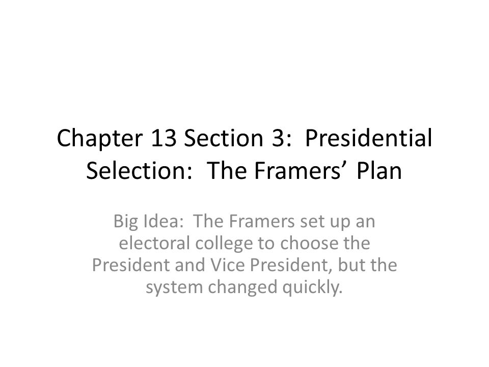 Chapter 13 Section 1 The Presidents Job Description ppt download – Vice President Job Description