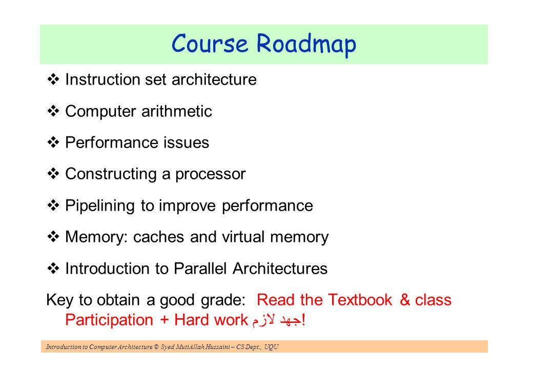 instruction in computer architecture