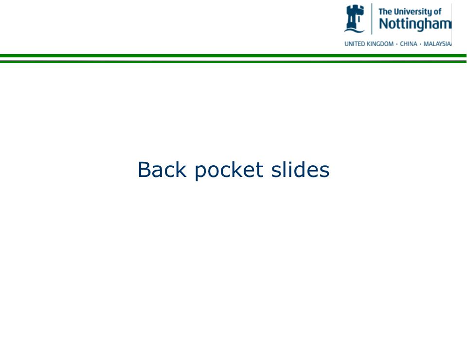 Back pocket slides