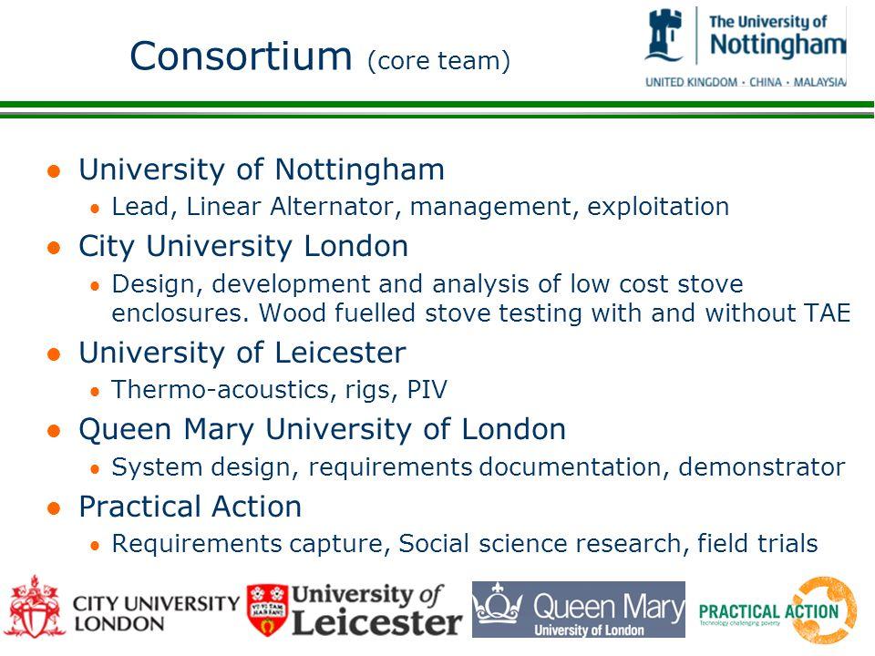 Consortium (core team)