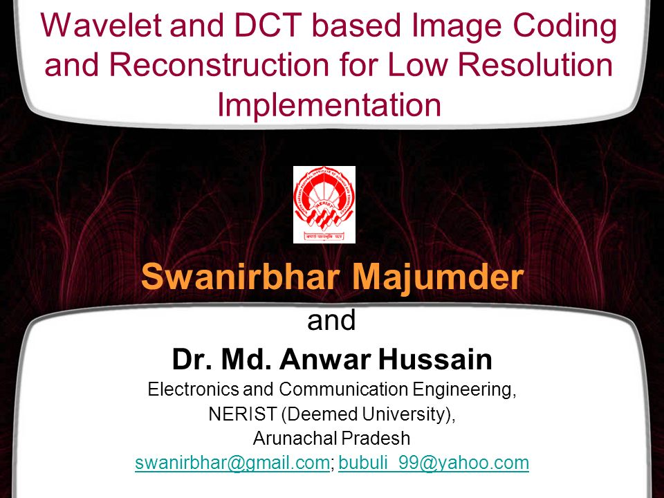 Wavelet and DCT based Image Coding and Reconstruction for Low Resolution Implementation