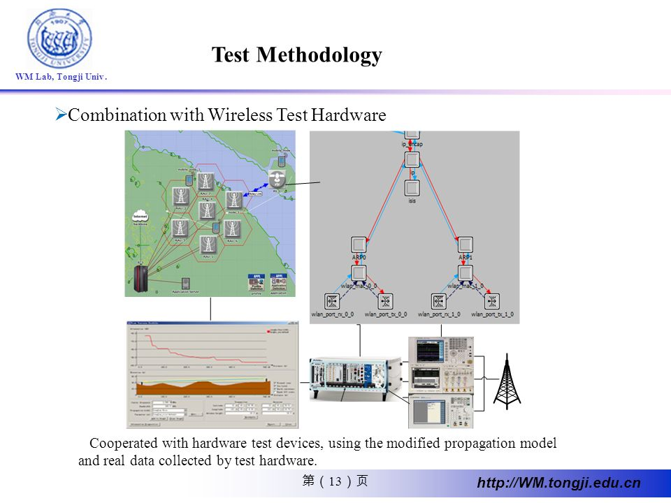 Test Methodology Combination with Wireless Test Hardware