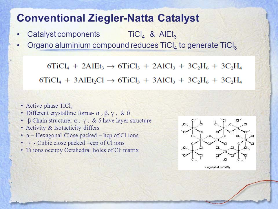 Conventional Ziegler-Natta Catalyst