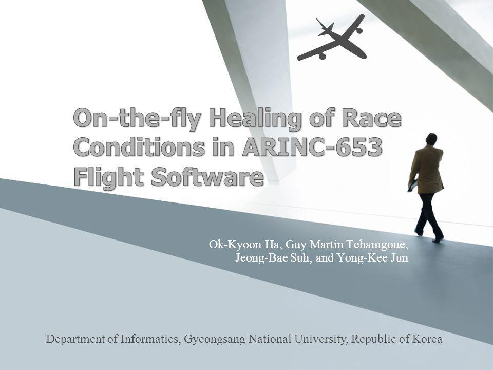 On-the-fly Healing of Race Conditions in ARINC-653 Flight Software