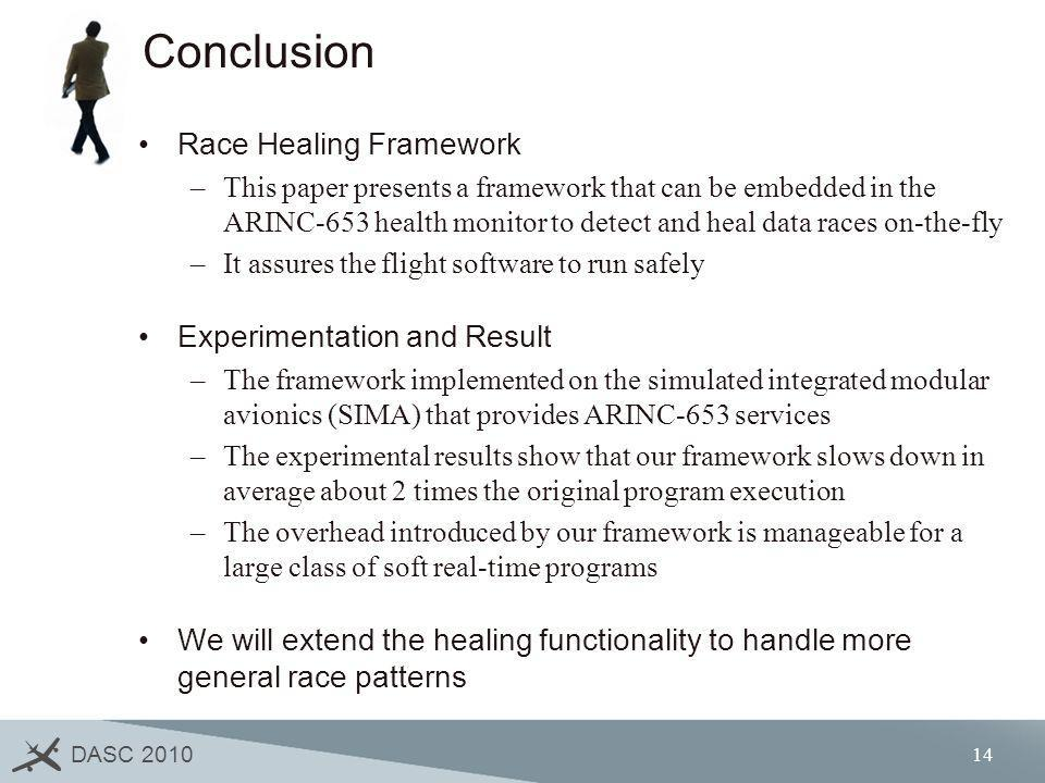 Conclusion Race Healing Framework Experimentation and Result