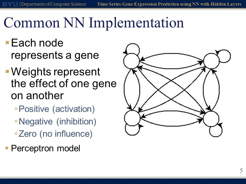 Common NN Implementation