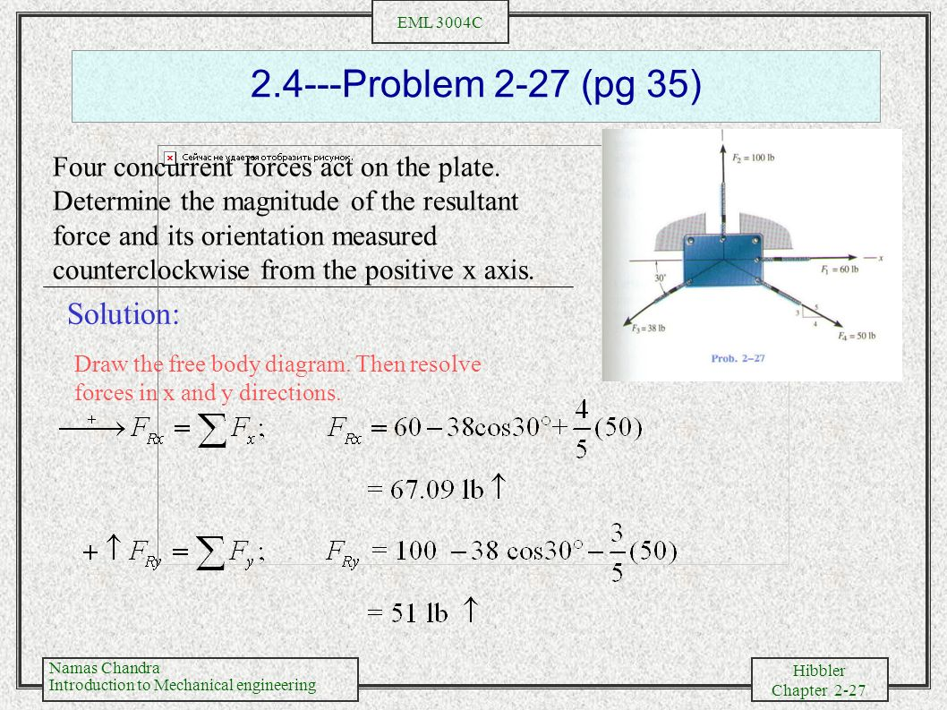 Chapter two force vectors ppt video online download 27 24 problem pooptronica