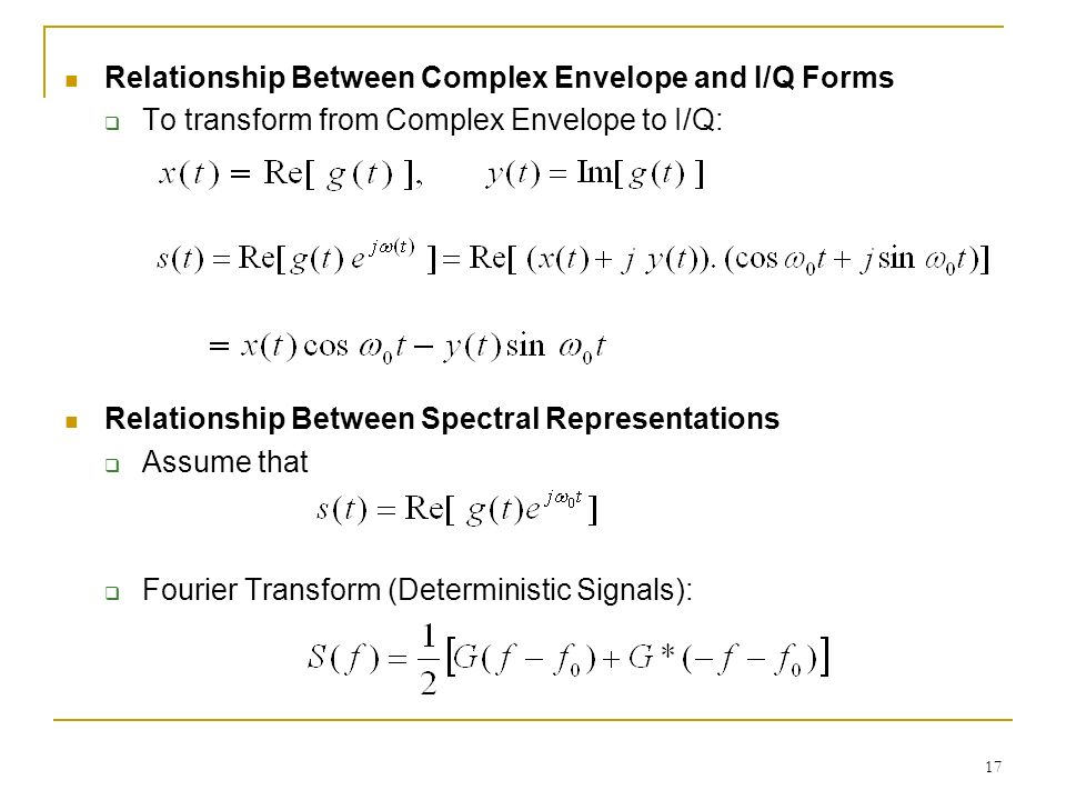 the relationship between spectral correlation and envelope analysis
