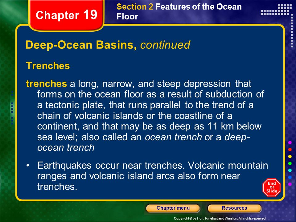Chapter 19 Table of Contents Section 1 The Water Planet - ppt download