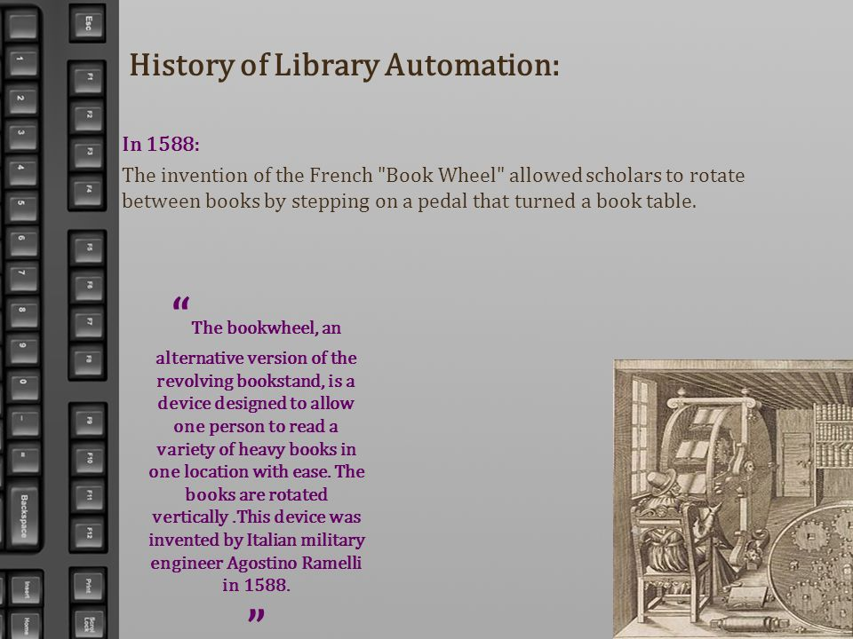 History of Library Automation: