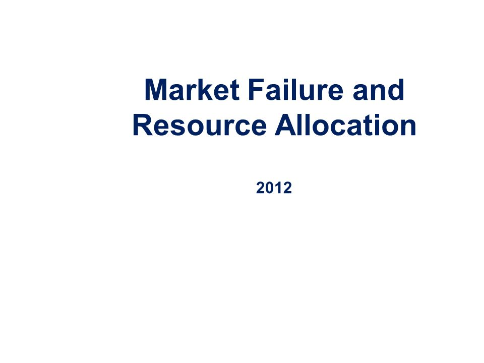 what is meant by market failure Market failure is possible any time these conditions are not satisfied i disagree that the concept of market failure exists what does it mean for the allocation of goods to be efficient so-called market failures are subjective phenomena portrayed as objective ones.