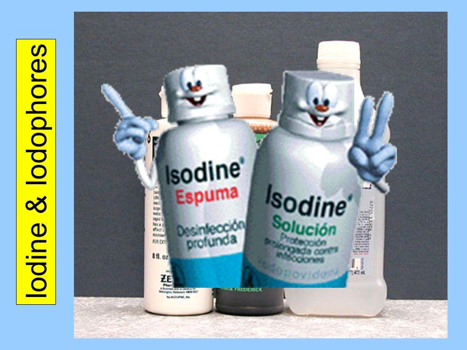 Iodine & Iodophores