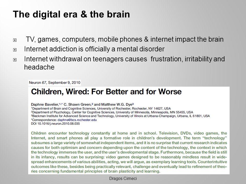 The digital era & the brain