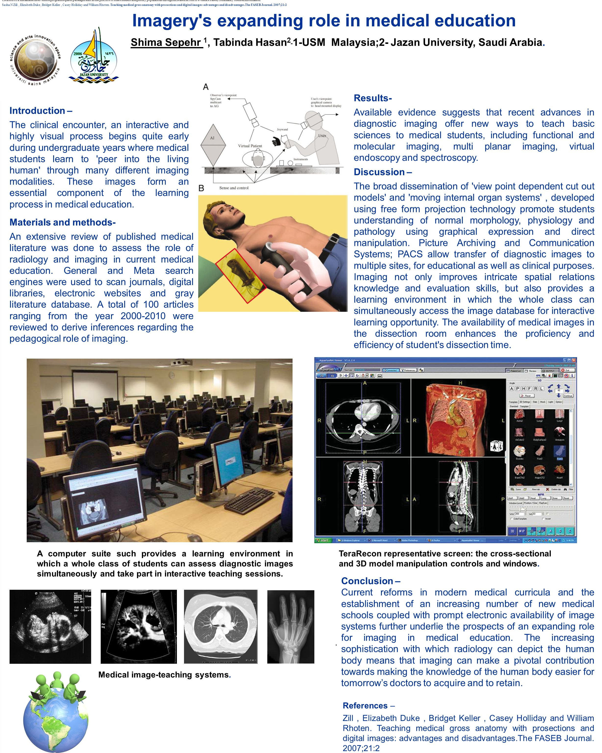 Imagery s expanding role in medical education