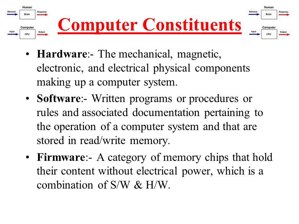 Computer Constituents