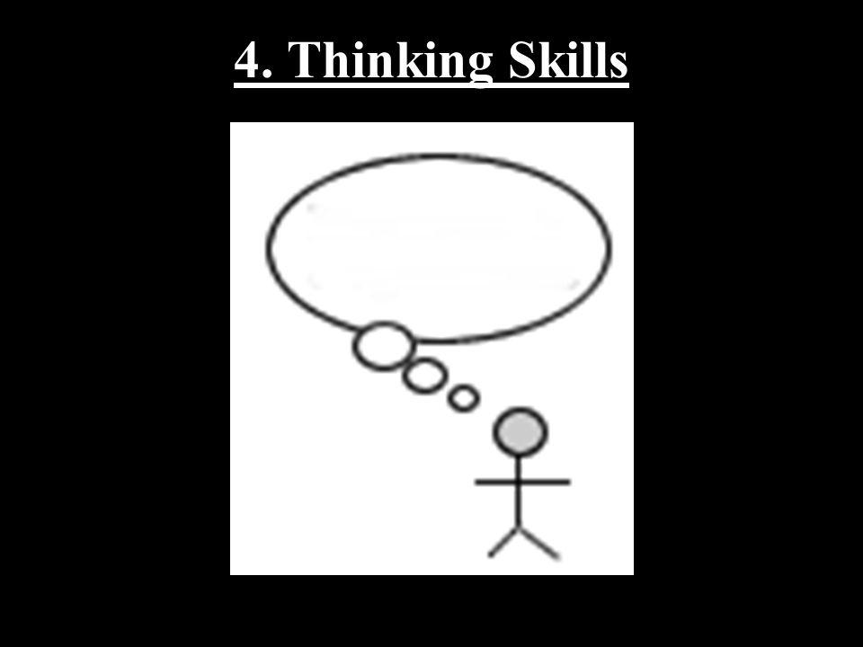 4. Thinking Skills