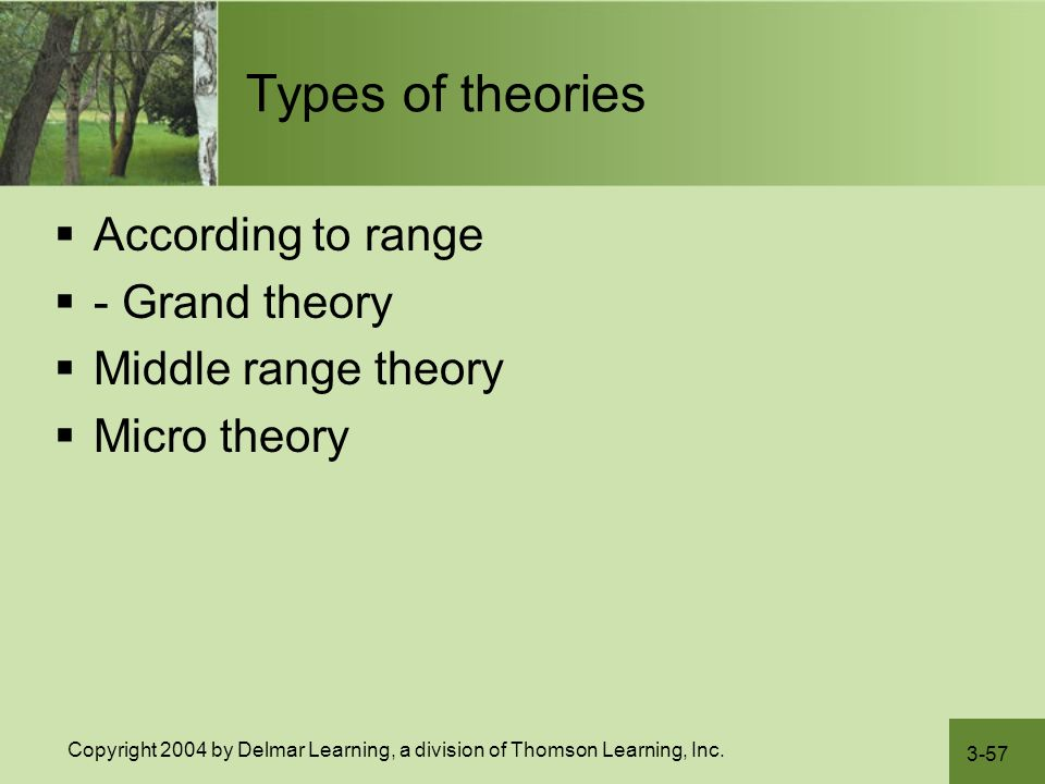 grand and mid range theories Garnd and middle range theories 1080 words | 5 pages and middle range theories meriam izobo oakland university grand and middle range theories when one thinks of the word theory the next.